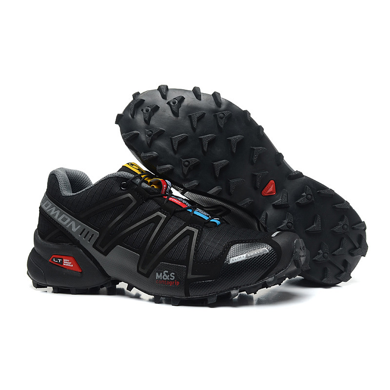 7312993c US $37.19 7% OFF|2019 New Salomon Speed Cross 3 CS III Outdoor Light gray  camouflage running Shoes speed cross men running shoes eur 40 46-in Running  ...