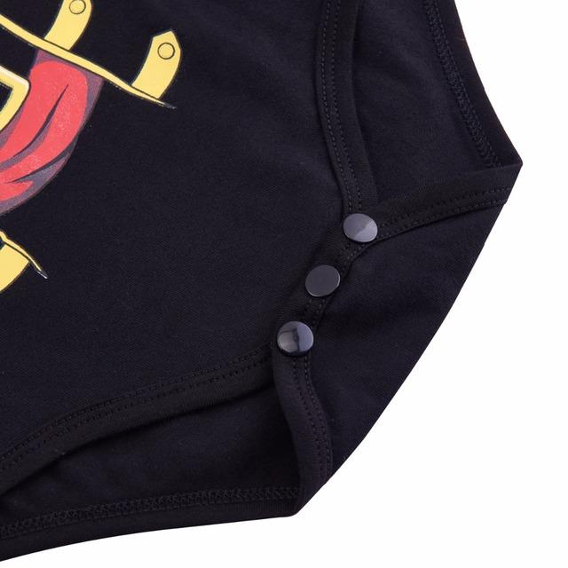 Bébé Garçon Pirate Costume Bodyuit Mignon Disfraz Goku Bebe 0-24 Mois