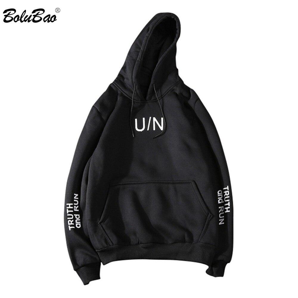 BOLUBAO Fashion Brand Men Hoodies Sweatshirt Autumn Winter Men Letter Printing Pullover Men Hoodies Street Clothing