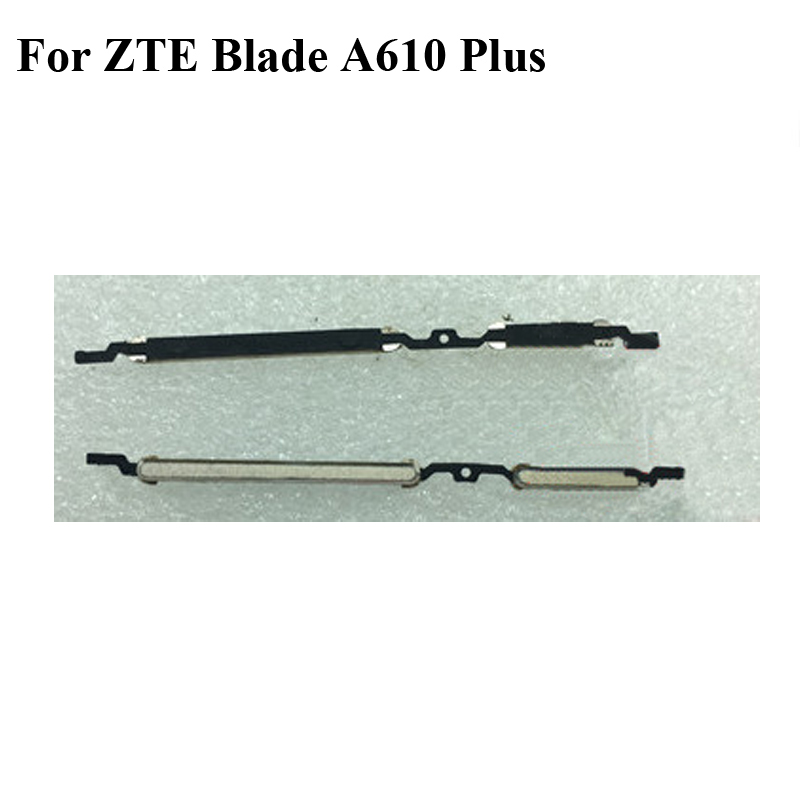 2PCS Original For <font><b>ZTE</b></font> <font><b>Blade</b></font> A610 Plus Side Button Power Volume Key Replacement Spare parts A 610 Plus <font><b>A610Plus</b></font> image