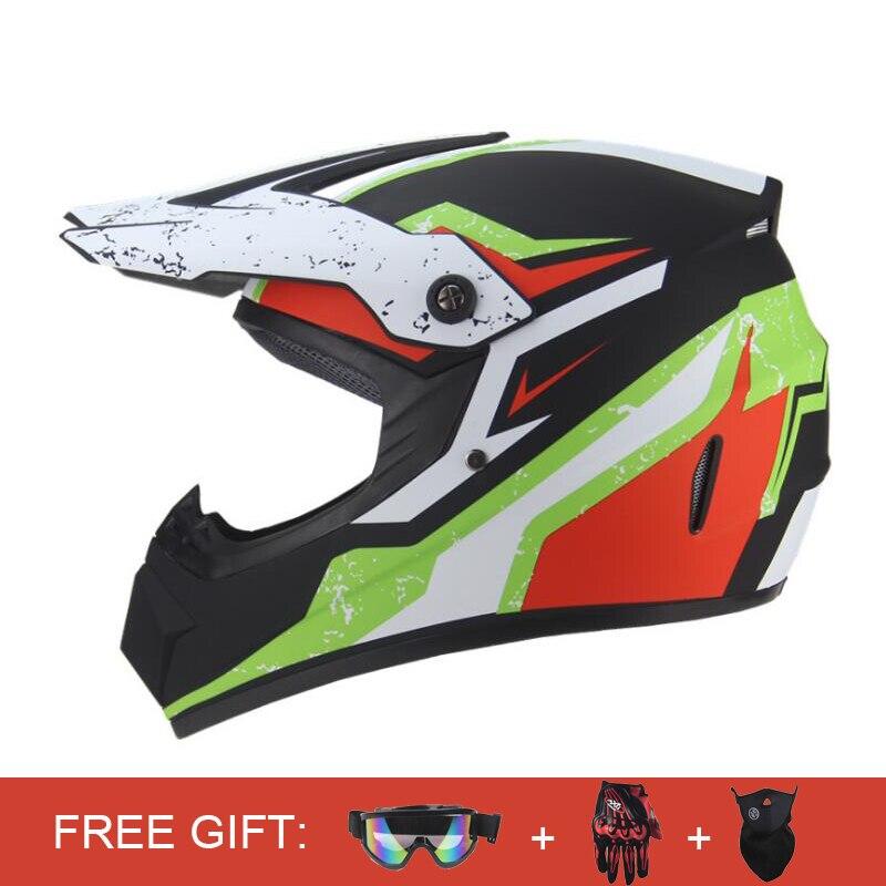 Motorcycle Helmet Full Face Helmet Casco Moto Men Capacete DH Motocross Helmet Motorbike ATV Dirt Moto Racing Touring