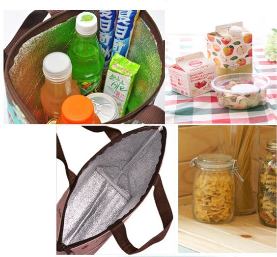 Fashion Cooler Bag Keep Food Fresh Thermal Bags Lunch Box Large Insulation Hot And Cold Pack Ice Picnic Free Shipping In From Luggage