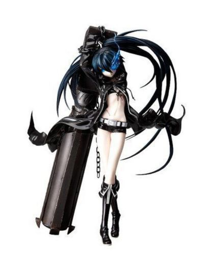 Us 36 89 Japanese Anime Action Figure Black Rock Shooter Toys With Cannon Sexy Girl Pvc Figure Resin Collection Model Toy Gifts In Action Toy