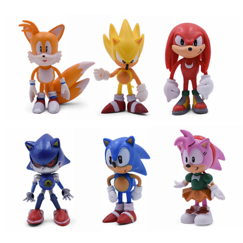 ALI shop ...  ... 32955906415 ... 2 ... Sonic Anime Doll Action Figure Toys Box-Packed 6PCS/SET 2st Generation Boom Rare PVC Model Toy For Children Characters Gift ...