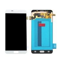Оригинальный 5,7 ''SUPER AMOLED для SAMSUNG Galaxy Note 5 N920A N9200 SM N920 N920C OLED ЖК дисплей Дисплей Сенсорный экран планшета Ассамблеи