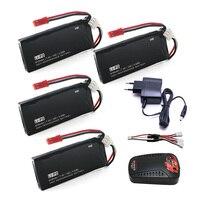 4pcs Hubsan X4 Batteries H502S RC 610mAh Lipo 7 4V RC Drone Battery 15C 4 5Wha