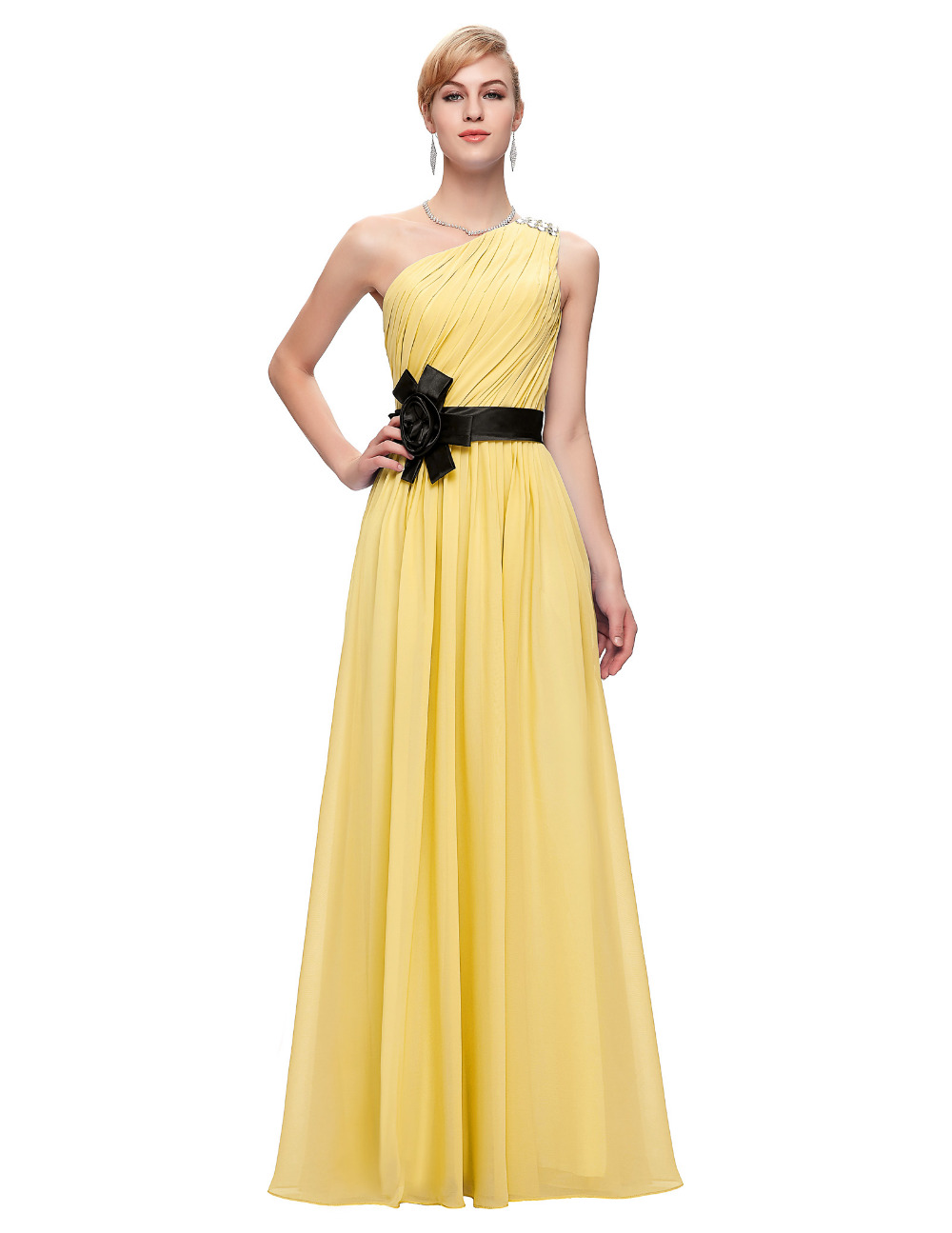 Nett Gelbe Kleider Für Die Hochzeit Bilder - Brautkleider Ideen ...
