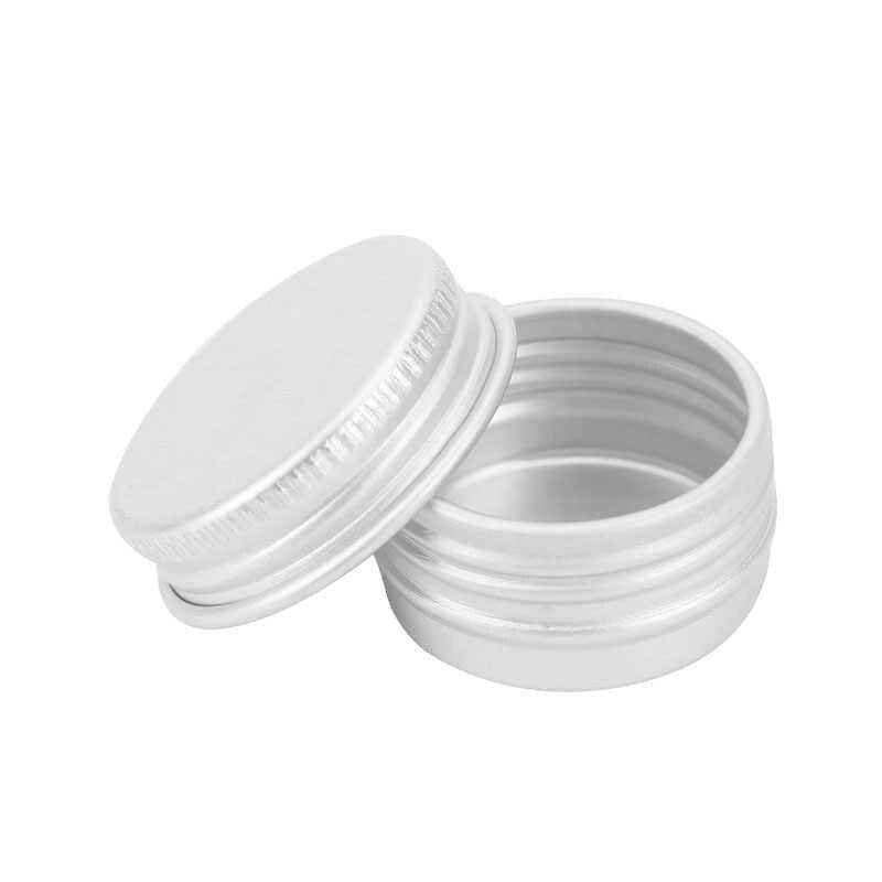 1/2 Pcs Mini Sampel Terpisah Botol Kosmetik Make Up Kosmetik Aluminium Penyimpanan Botol Kosmetik Sekrup Wadah Sampel Alat Perjalanan