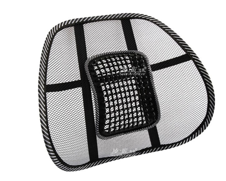 Bon Promotion Car Seat Office Chair Massage Back Lumbar Support Mesh Ventilate  Cushion Pad Support. In Seat Supports From Automobiles U0026 Motorcycles On ...