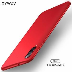 Image 3 - Xiao mi mi 9 przypadku Silm, odporna na wstrząsy pokrywa luksusowe Ultra cienka, gładka, twardy telefon obudowa do Xiaomi mi 9 tylna etui na Xiaomi mi 9