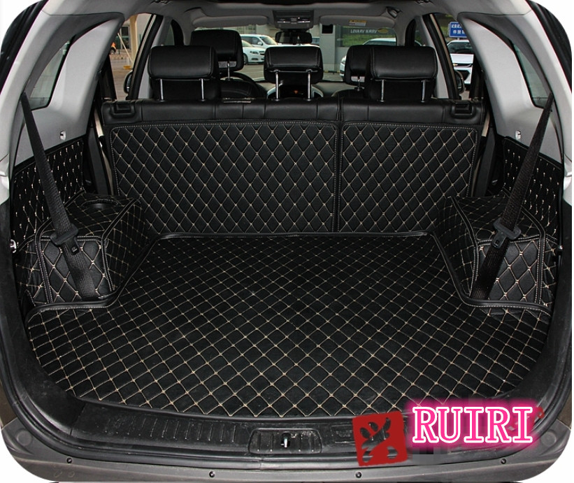 Free shipping! Special trunk mats for Chevrolet Captiva 5 seats 2018-2006 durable cargo liner mats boot carpets for Captiva 2013