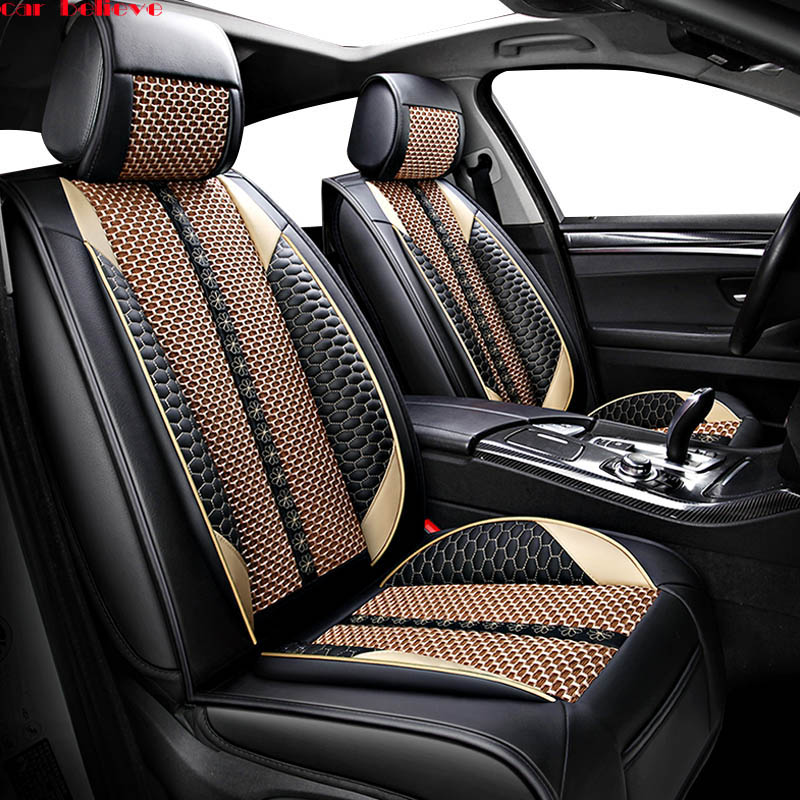 Car Believe car seat covers For kia ceed 2017 cerato k3 sportage 3 rio 4 soul sorento spectra accessories cover for vehicle seat universal auto car seat covers for kia soul cerato sportage optima rio k3s kx5 kx3 sorento ceed car automobiles accessories