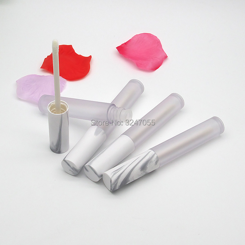 4.5ML 10/30/50pcs Round Empty Plastic Lip Gloss Tube, DIY Frosted Cosmetic Lip Beauty Professional Tools, Liquid Lipstick Bottle 100pcs professional cosmetic diy empty chapstick lip gloss lipstick balm tube with caps container lip me88