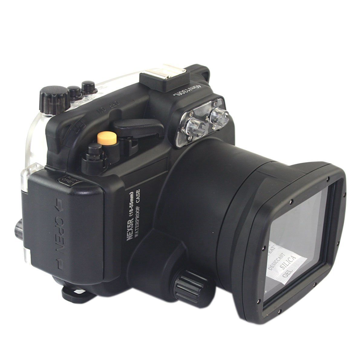 Waterproof Underwater Diving Housing Camera bag Case for Sony Alpha NEX-5R NEX5R 18-55mm Lens mcoplus 40m 130ft camera underwater housing waterproof shell case for nikon j5 10mm lens