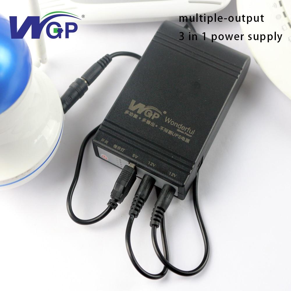 Batterie d'alimentation Portable ups 5 V 12 V 12 V alimentation sans interruption avec batterie ups rechargeable pour télécom et dispositif de sécurité