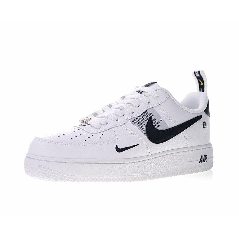 Original Authentic Nike Air Force 1 07 Lv8 Utility Mens Skateboarding Shoes Sport Outdoor Sneakers Lightweight Designer Aj7747