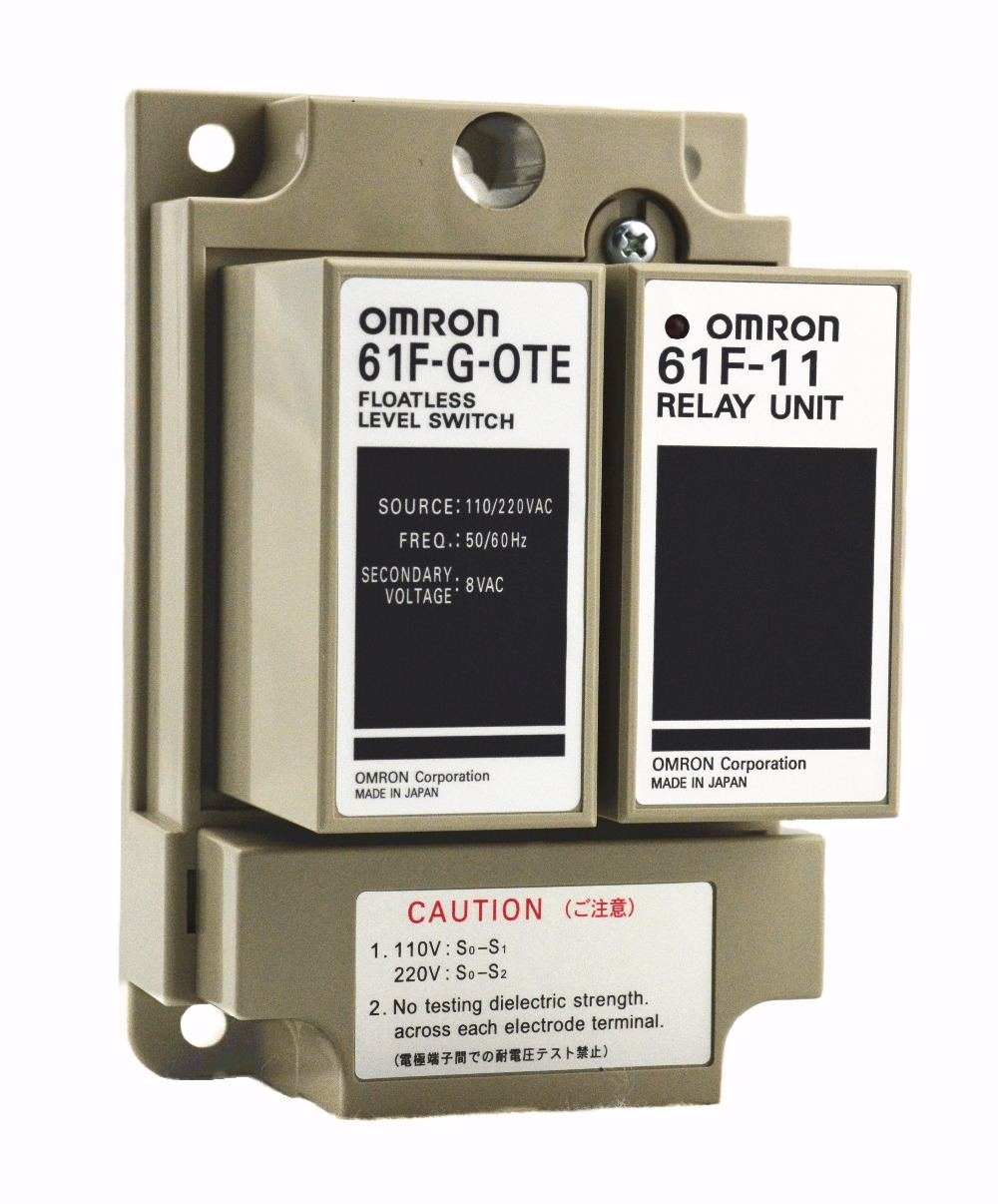 61F-G-OTE 110/220 V 50/60Hz OMRON relais composant électronique relais à semi-conducteurs contrôleur de niveau d'eau pour interrupteur de niveau de liquide