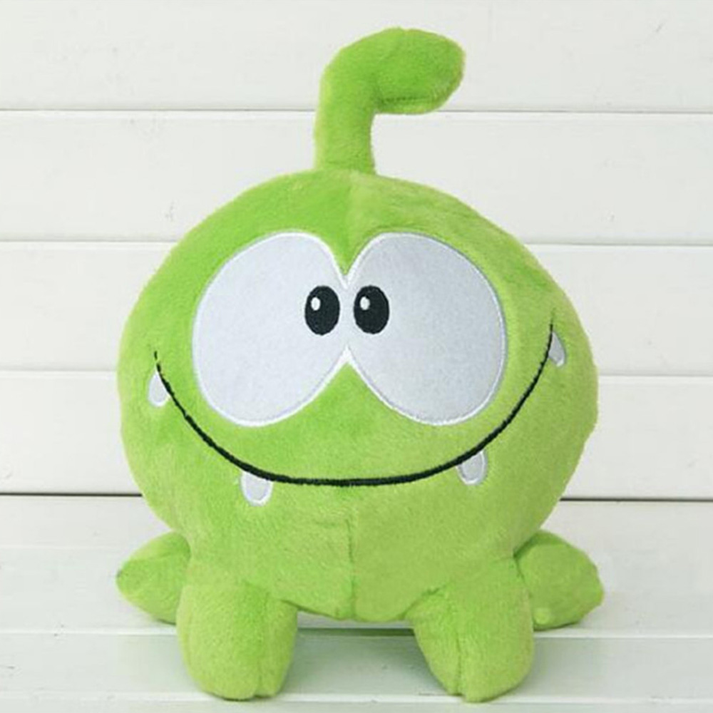 Lovely 7 20cm om nom frog plush toys cut the rope soft stuffed cut the rope