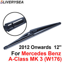 QEEPEI Rear Wiper Blade No Arm For Mercedes Benz A-Class MK 3 (W176) 2012-2016 12'' 5 door Hatchback High Quality Natural Rubber недорого