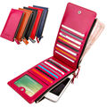 Hot sale PU leather women wallet new arrival brand colorful long coin purse good man card holder zipper clutch fashion design