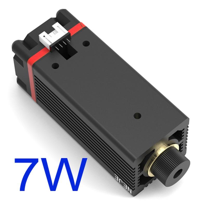 7 Вт 450нм лазерная головка модуля для NEJE MASTER Лазерная deapth и металлическая гравировка Замена машины-in Запчасти для деревообрабатывающих станков from Инструменты