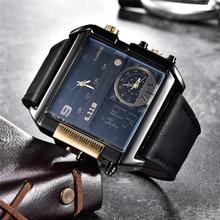 Men Original 6.11 Multiple Time Zone Quartz Watch (3 colors)