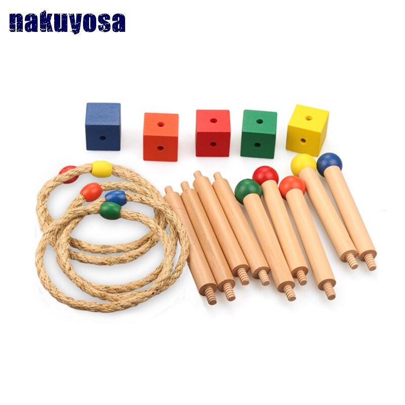 Montessori jouets d'apprentissage précoce aides pédagogiques sensorielles jouets pour enfants d'âge préscolaire