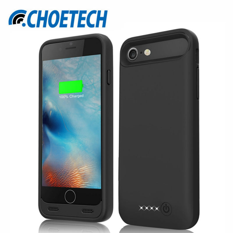 Choe 3100mah rechargeable battery charger cases backup battery phone cases for iphone...