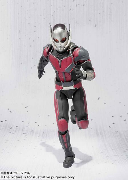 Superhero Hot Captain America 3 Ant-Man Action Figure 17CM PVC Collection Model Antman Toy For Gift 094 marvel legends avengers civil war captain america iron man black widow black panther scarlet witch ant man pvc action figure toy