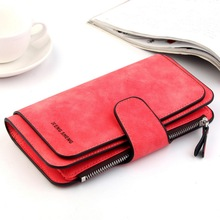 Lady's Multi-Function Wallet Women Multi-Card Frosted Card B