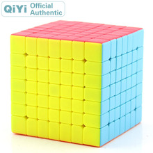 QiYi QiXing S 7x7x7 Magic Cube XMD Competition Cubo Magico Professional Speed Neo Cube Puzzle Kostka Antistress Fidget Toys 7x7x7 professor rubiks cube competition speed magic cube puzzle educational toys for children