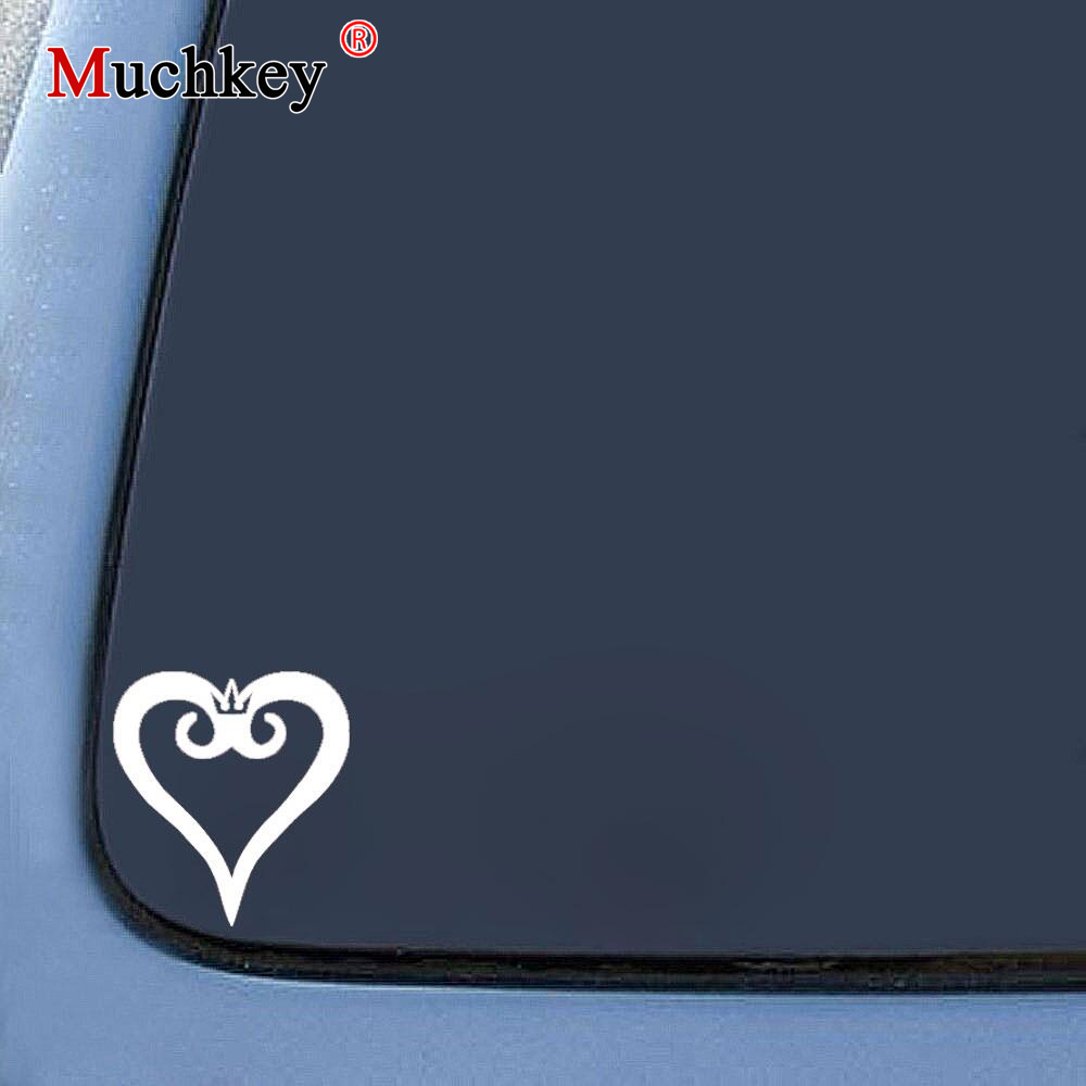 Kingdom Hearts Heart Logo Vinyl Decal Truck Car Sticker Laptop