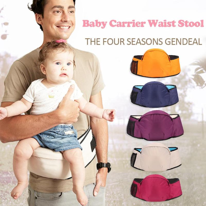 Baby Carrier Waist Stool Walkers Baby Sling Hold Waist Belt Backpack Hipseat Belt Kids Infant Hip Seat Comfortable Baby Hipseat
