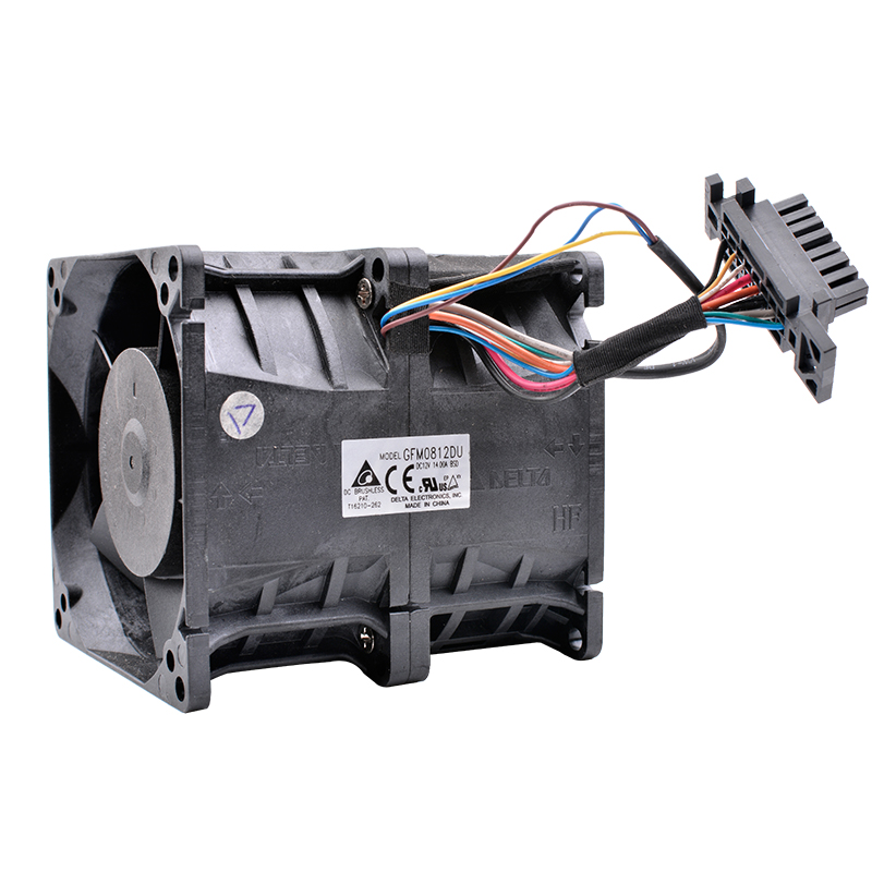 Brand new original DELTA GFM0812DU 80x80x85mm 8cm DC12V 14A Powerful supercharged cooling fan new original psd1204ppbx a dc12v 12 2w for computer server cooling fan 4pcs