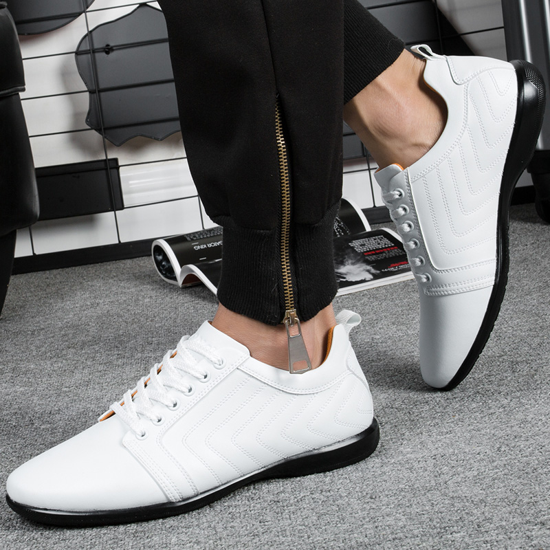 Image 3 - BONA New Classics Style Men Casual Shoes Lace Up Breathable Men  Shoes Light Soft Male Flat Shoes Comfortable Fast Free Shippingshoes  comfortshoe lacesshoe laces free shipping