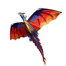 2019 nowość 3d smok latawiec smok dobrej pogodzie smok latawiec dla zabawka latająca Drop Shipping tanie tanio NYLON Peradix