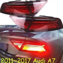 Dinâmico, luz traseira a7, uso de carro sedan, 2011 ~ 2017, led! acessórios do carro, a4, a5, a8, a7 luz de nevoeiro, q3, q5, q7, s3 s4 s5 s6 s7 s8; a7 luz traseira