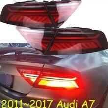 Feu arrière dynamique A7, feu arrière pour berline, 2011 ~ 2017,LED! Accessoires de voiture, feu antibrouillard, A4,A5,A8,A7, Q3,Q5,Q7,S3 S4 S5 S6 S7 S8;A7