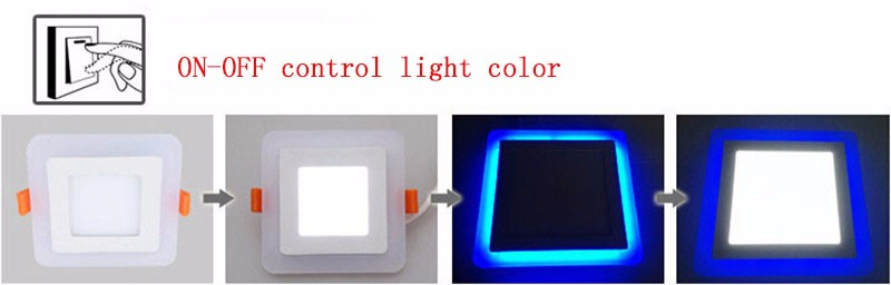 ON-OFF control light color