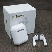 IFAN Original 1:1 air pod i9s TWS vagens de ouvido sem fio Bluetooth super bass fones de ouvido Para flypods xiaomi meizu airdot pop i10 tws M9X