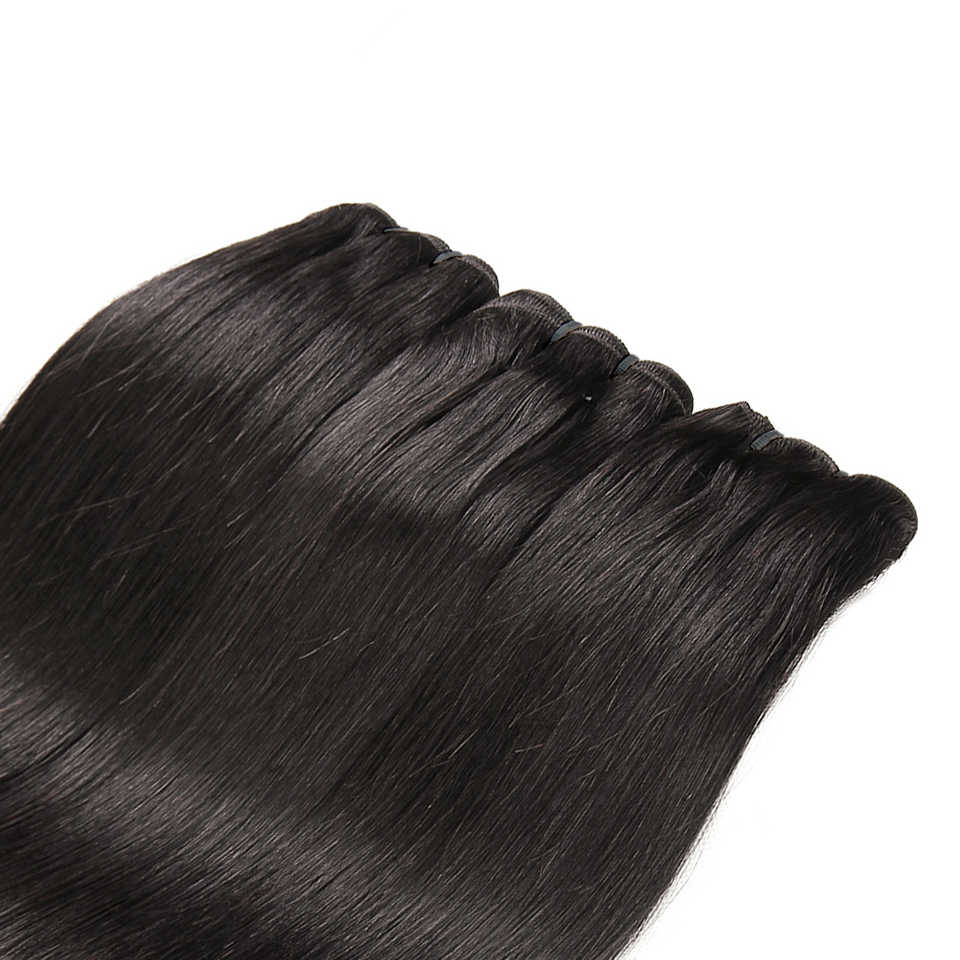 100G Raw Indian Mink Virgin Hair Bundles Straight Natural Color Human Hair Extension 3PC Free Shipping