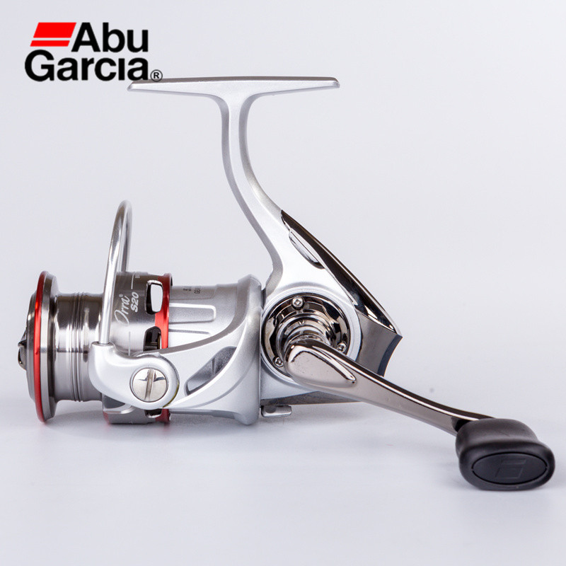Abu Garcia ORRAS 6+1BB 5.8:1 Spinning Reel Nylon Pre-Loading Line L/R Hand Anti-Corrosion Fishing Accessories Lure Fishing Reels 11324 feron