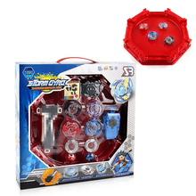 Bayblade Burst Stadium Arena Metal Funsion 4D Blades Toys With Launcher And Handle Box