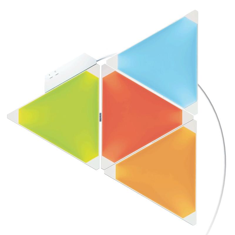 9 pièces Original Xiaomi Mijia Nanoleaf couleur intelligente carte lumineuse rythme édition travail avec Apple Homekit Google Home étendu