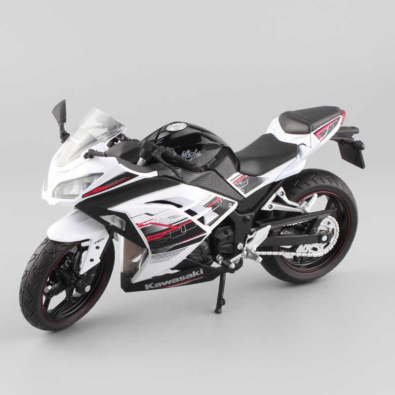 1/12 automaxx 2013 Kawasaki Ninja 250R SE 300 special edition race весы мотоциклетная игрушка Спорт велосипед литья под давлением модель и игрушечные транспортные средства