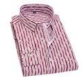 2017 Retro Floral Impresso Camisas Dos Homens Casual Clássico Dos Homens Vestido de Camisa Longa da Luva Dos Homens Camisas de Marca de Moda de Nova Primavera YN10015