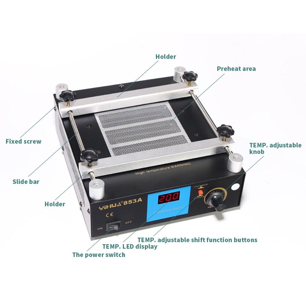 YIHUA 853A BGA digitális kijelző állandó hőmérsékletű - Hegesztő felszerelések - Fénykép 5