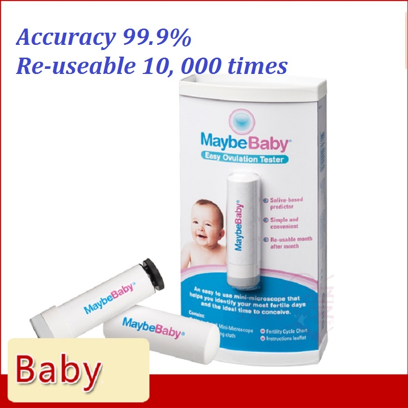 MaybeBaby Easy Re-Usable 10000Times Saliva Ovulation Tester to Identify most fertile days & ideal time to conceive 99.9%Accuracy laborsaving 50cc drencher injector gun adjust dose syringe re usable sheep goat swine wormer