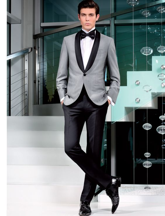 K:2215 Agreeable To Taste High Quality Mens Suits Groom Tuxedos Groomsmen Wedding Party Dinner Best Man Suits jacket+pants+tie