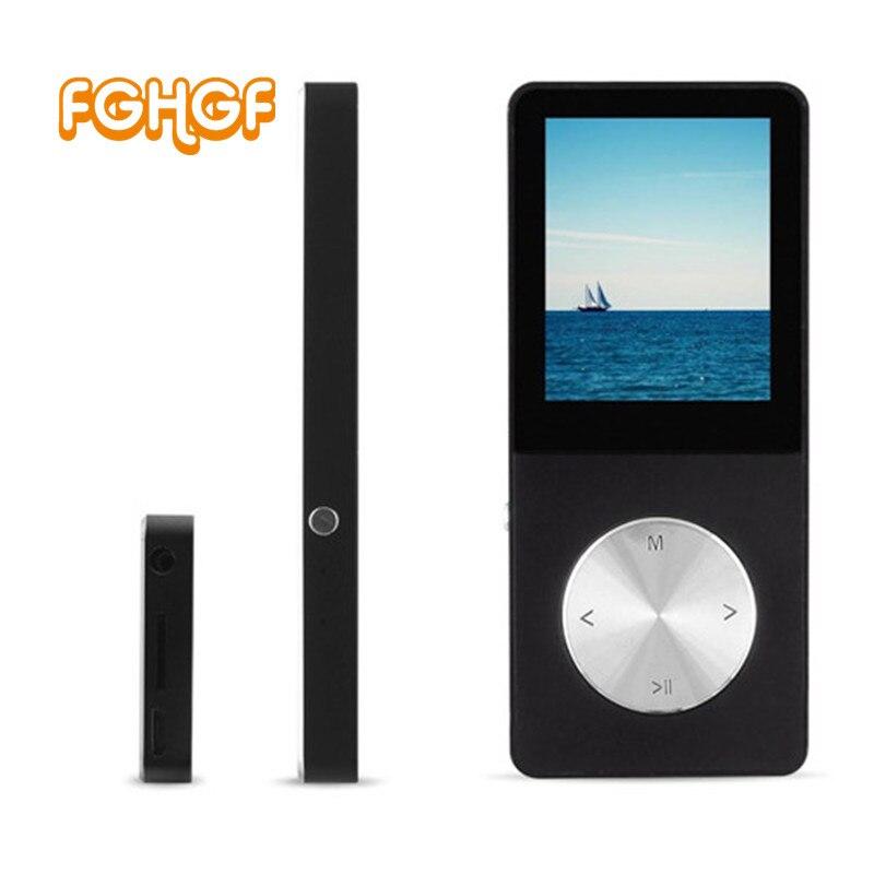 FGHGF real lossless HiFi MP4 Music player Lcd screen High sound quality metal MP4 E-book FM radio Clock Data usb MP3 32GB 64GB